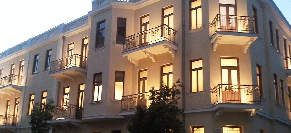 משרדים בבניין לשימור בתל אביב